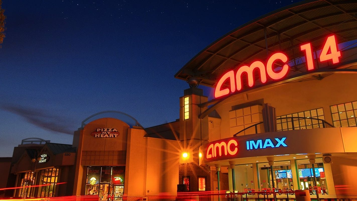 AMC theater chain warns that it may not survive disruption from coronavirus pandemic